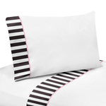 4 pc Queen Sheet Set for Paris Bedding Collection