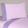 4 pc Queen Sheet Set for Pink and Purple Butterfly Bedding Collection