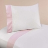 4 pc Queen Sheet Set for Pink French Toile Bedding Collection