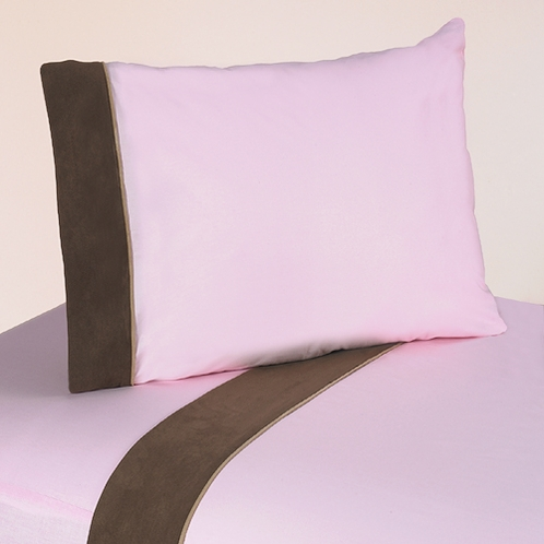 4 pc Queen Sheet Set for Soho Pink Bedding Collection - Click to enlarge