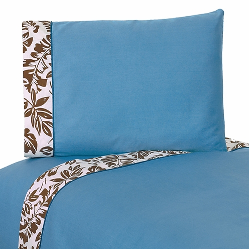 3 pc Twin Sheet Set for Tropical Hawaiian Bedding Sweet Jojo Designs Surf Collection - Click to enlarge