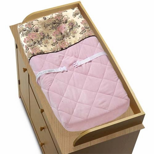Abby Rose Changing Pad Cover - Click to enlarge