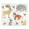 Accent Floor Rug for Woodland Animal Toile Collection by Sweet Jojo Designs