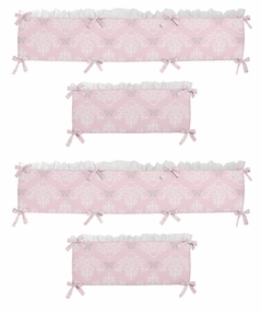 Alexa Collection Crib Bumper by Sweet Jojo Designs
