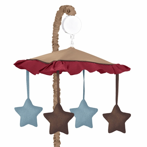All Star Sports Musical Baby Crib Mobile by Sweet Jojo Designs - Click to enlarge