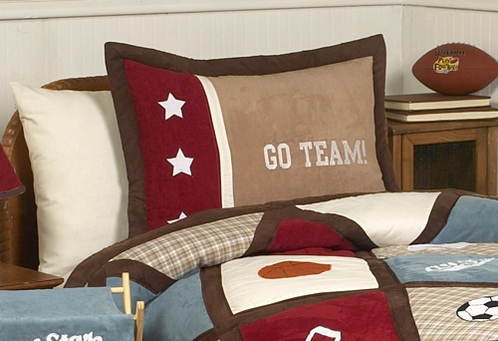 All Star Sports Pillow Sham - Click to enlarge