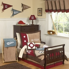 All Star Sports Toddler Bedding - 5 pc set