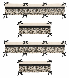 Animal Safari Collection Crib Bumper by Sweet Jojo Designs