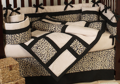 Animal Safari Jungle Baby Bedding 9 Pc Print Crib Set Only 69 99