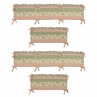 Annabel Collection Crib Bumper by Sweet Jojo Designs