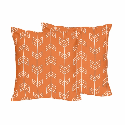 Arrow Print Decorative Accent Throw Pillows - Set of 2 - Click to enlarge