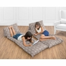 Arrow Print Kids Teen Floor Pillow Case Lounger Cushion Cover for Outdoor Adventure Collection