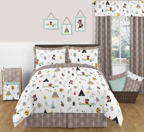 Beautiful Outdoor Adventure Nature 3pc Full / Queen Bedding Set only $119.99 KA41