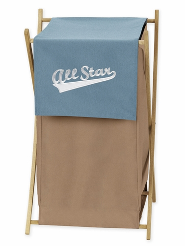 Baby and Kids Clothes All Star Sports Laundry Hamper by Sweet Jojo Designs - Click to enlarge