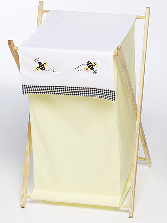 Baby and Kids Clothes Laundry Hamper for Bumblebee Bedding - Click to enlarge
