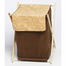 Baby and Kids Clothes Laundry Hamper for Camel Paisley Bedding