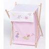 Baby and Kids Clothes Laundry Hamper for Fairy Tale Fairies Bedding