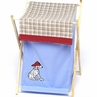 Baby and Kids Clothes Laundry Hamper for Frankie's Firetruck Bedding