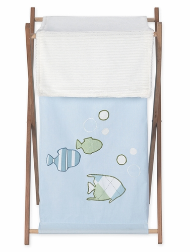 Baby And Kids Clothes Laundry Hamper For Go Fish Bedding Sets Click To Enlarge
