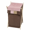 Baby and Kids Clothes Laundry Hamper for Soho Pink Bedding by Sweet Jojo Designs