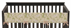 Baby Annabel Crib Long Rail Guard Cover by Sweet Jojo Designs