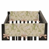 Baby Annabel Crib Side Rail Guard Covers by Sweet Jojo Designs - Set of 2