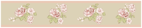 Baby Annabel Nursery and Kids Wall Border by Sweet Jojo Designs - Click to enlarge