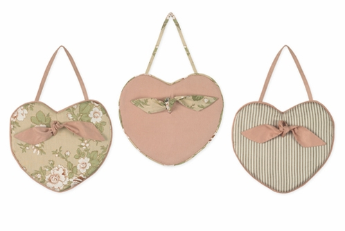 Baby Annabel Wall Hanging Art Decor 3 Piece Set - Click to enlarge