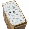 Baby Changing Pad Cover for Earth and Sky Collection by Sweet Jojo Designs