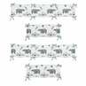 Baby Crib Bumper Pad for Bear Mountain Watercolor Collection by Sweet Jojo Designs
