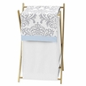 Baby/Kids Clothes Laundry Hamper for Blue and Gray Avery Bedding by Sweet Jojo Designs