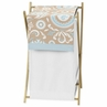 Baby/Kids Clothes Laundry Hamper for Blue and Taupe Hayden Bedding by Sweet Jojo Designs