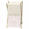 Baby/Kids Clothes Laundry Hamper for Blush Pink, Gold and White Amelia Bedding by Sweet Jojo Designs