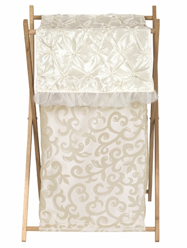 Baby/Kids Clothes Laundry Hamper for Champagne and Ivory Victoria Bedding by Sweet Jojo Designs - Click to enlarge