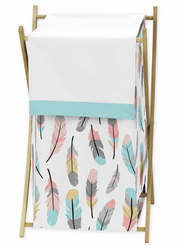 Baby/Kids Clothes Laundry Hamper for Feather Bedding by Sweet Jojo Designs - Click to enlarge