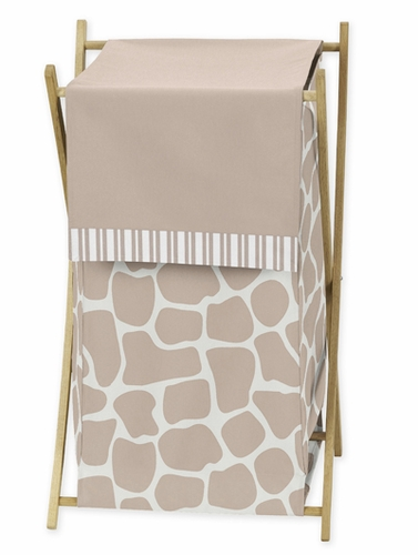 Baby/Kids Clothes Laundry Hamper for Giraffe Bedding by Sweet Jojo Designs - Click to enlarge