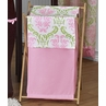 Baby/Kids Clothes Laundry Hamper for Pink and Lime Juliet Bedding