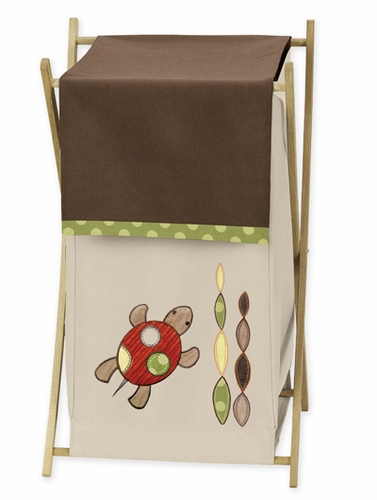 Baby/Kids Clothes Laundry Hamper for Sea Turtle Bedding by Sweet Jojo Designs - Click to enlarge