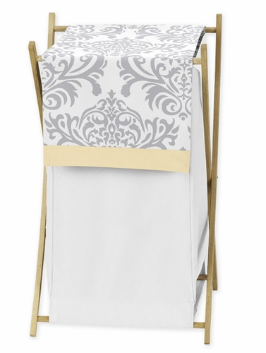 Baby/Kids Clothes Laundry Hamper for Yellow and Gray Avery Bedding by Sweet Jojo Designs - Click to enlarge