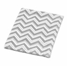 Baby Plush Blanket for Gray and Black Zig Zag Collection by Sweet Jojo Designs