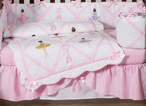 Brand new Ballet Dancer Ballerina Baby Bedding - 9 pc Crib Set only $189.99 EI09