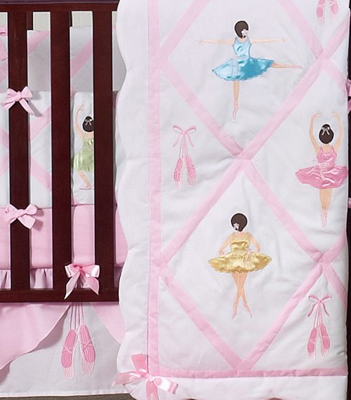 Attractive Ballet Dancer Ballerina Baby Bedding - 9 pc Crib Set only $189.99 QJ61