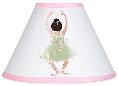 Ballet Dancer Ballerina Lamp Shade by Sweet Jojo Designs - Click to enlarge