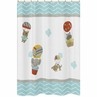 Balloon Buddies Kids Bathroom Fabric Bath Shower Curtain by Sweet Jojo Designs