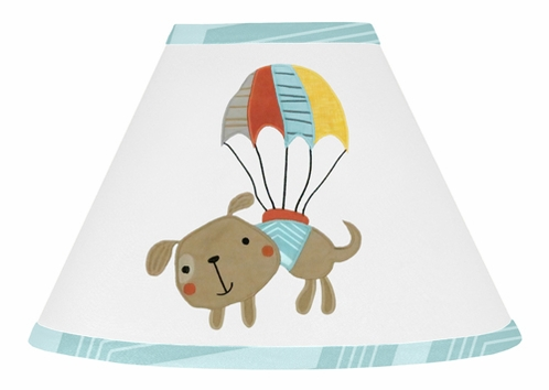 Balloon Buddies Lamp Shade by Sweet Jojo Designs - Click to enlarge