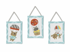 Balloon Buddies Wall Hanging Accessories by Sweet Jojo Designs