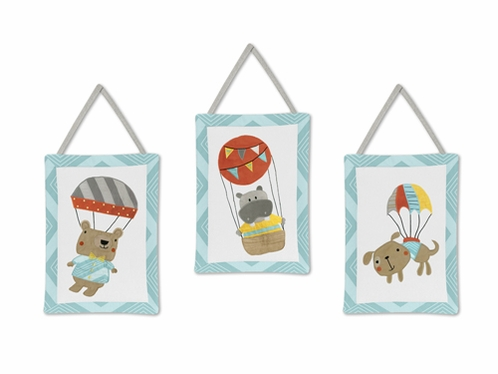Balloon Buddies Wall Hanging Accessories by Sweet Jojo Designs - Click to enlarge