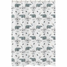 Bathroom Fabric Bath Shower Curtain for Bear Mountain Watercolor Collection by Sweet Jojo Designs