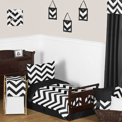 Black And White Toddler Bedding Sets