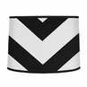 Black and White Chevron ZigZag Lamp Shade by Sweet Jojo Designs